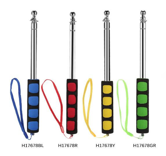 High Quality Telescopic Tour Guide Flag Pole Collapsible Flagpole
